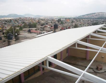 Techos prefabricados en m xico multycasetas for Materiales para techos de casas