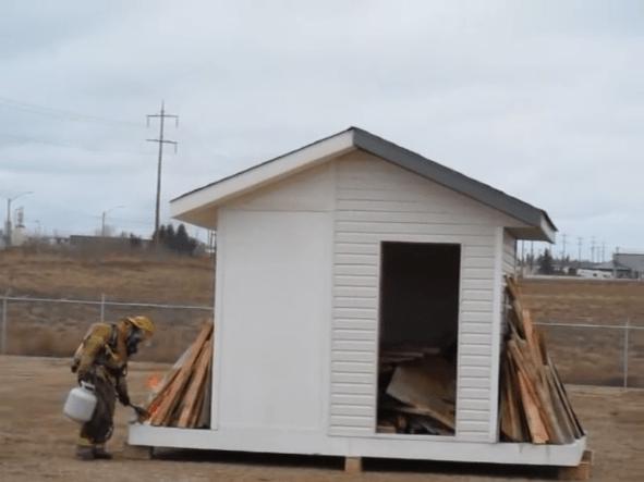 Resistencia al fuego del multypanel