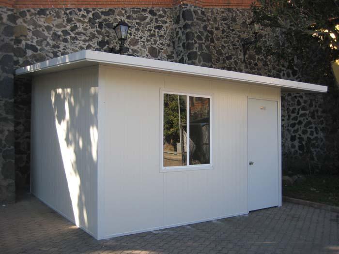 Casetas de servicio y vigilancia 01 multycasetas for Casetas prefabricadas jardin