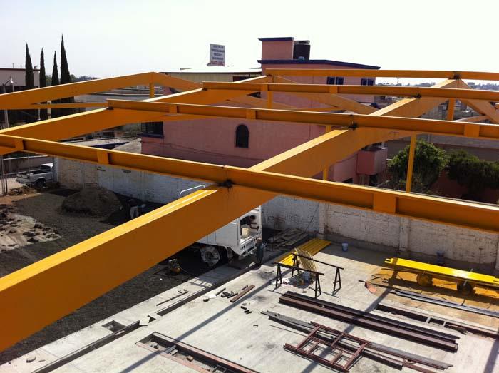 Estructura metalica ligera g 04 multycasetas - Precio estructura metalica ...